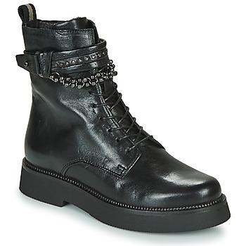 Παπούτσια Γυναίκα Μπότες Mjus TRIPLE STRAP Black
