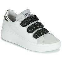 Παπούτσια Γυναίκα Χαμηλά Sneakers Meline SCRATCHO Άσπρο / Glitter