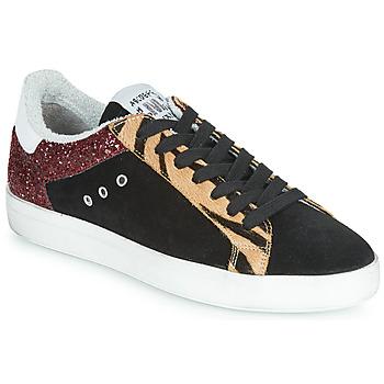 Παπούτσια Γυναίκα Χαμηλά Sneakers Meline ZEBRINO Black
