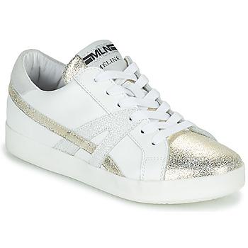 Παπούτσια Γυναίκα Χαμηλά Sneakers Meline CRINO Άσπρο