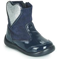 Παπούτσια Κορίτσι Μπότες Gioseppo BUCKLAND Marine / Silver