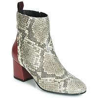 Παπούτσια Γυναίκα Μποτίνια Gioseppo NEUBURG Python / Bordeaux