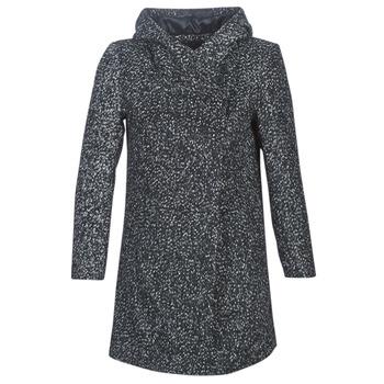 Υφασμάτινα Γυναίκα Παλτό Casual Attitude LOUA Grey / Black