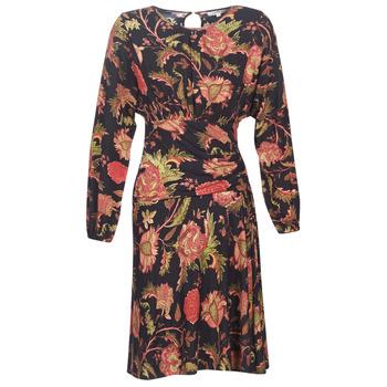 Υφασμάτινα Γυναίκα Κοντά Φορέματα Derhy BANQUISE Black / Multicolore