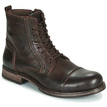 Παπούτσια Άνδρας Μπότες Jack & Jones JFW RUSSEL LEATHER Brown