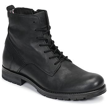 Παπούτσια Άνδρας Μπότες Jack & Jones JFW ORCA LEATHER Black