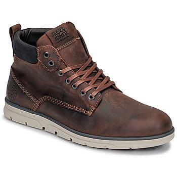 Παπούτσια Άνδρας Μπότες Jack & Jones JFW TUBAR LEATHER Brown