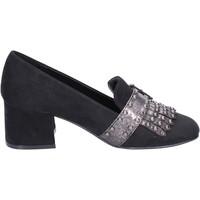 Παπούτσια Γυναίκα Μοκασσίνια Nacree BR43 Μαύρος