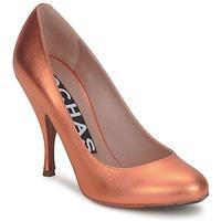 Παπούτσια Γυναίκα Γόβες Rochas RO18061-90 ΜΕΤΑΛΙΚΟ-ΠΟΡΤΟΚΑΛΙ