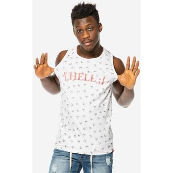 Αμάνικα/T-shirts χωρίς μανίκια Brokers ΑΝΔΡΙΚΟ ΑΜΑΝΙΚΟ T-SHIRT ΛΕΥΚΟ