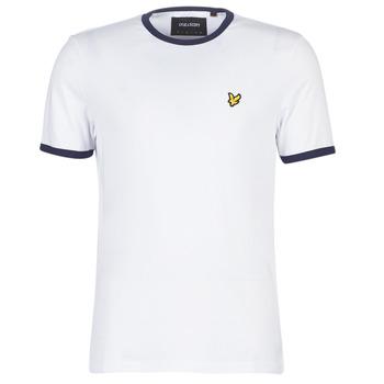 Υφασμάτινα Άνδρας T-shirt με κοντά μανίκια Lyle & Scott TS705V-Z660 Άσπρο