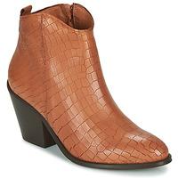 Παπούτσια Γυναίκα Μποτίνια Fericelli LISA Brown