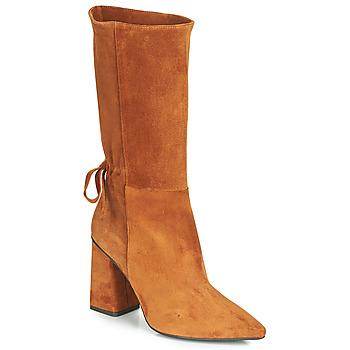 Παπούτσια Γυναίκα Μπότες για την πόλη Fericelli LUCIANA Camel