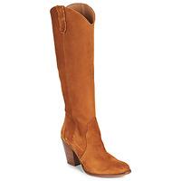 Παπούτσια Γυναίκα Μπότες για την πόλη Fericelli LUNIPIOLLE Camel