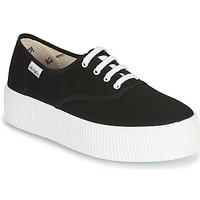 Παπούτσια Γυναίκα Χαμηλά Sneakers Victoria 1915 DOBLE LONA Black