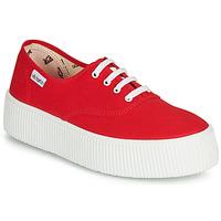 Παπούτσια Γυναίκα Χαμηλά Sneakers Victoria 1915 DOBLE LONA Red