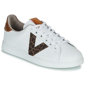 Παπούτσια Γυναίκα Χαμηλά Sneakers Victoria TENS PRINT Άσπρο