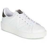 Παπούτσια Γυναίκα Χαμηλά Sneakers Victoria UTOPIA RELIEVE PIEL Άσπρο