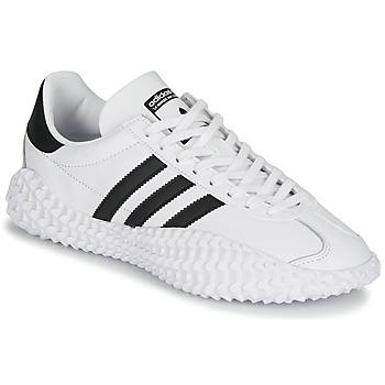 Παπούτσια Άνδρας Χαμηλά Sneakers adidas Originals COUNTRYXKAMANDA Άσπρο / Black