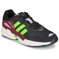 Παπούτσια Άνδρας Χαμηλά Sneakers adidas Originals YUNG-96 Black / Green