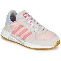 Παπούτσια Γυναίκα Χαμηλά Sneakers adidas Originals MARATHON TECH W Grey / Ροζ