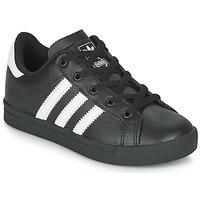Παπούτσια Παιδί Χαμηλά Sneakers adidas Originals COAST STAR C Black / Άσπρο