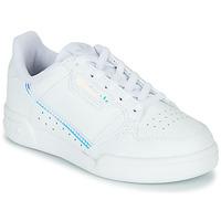 Παπούτσια Παιδί Χαμηλά Sneakers adidas Originals CONTINENTAL 80 C Άσπρο / Μπλέ