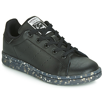 Παπούτσια Παιδί Χαμηλά Sneakers adidas Originals STAN SMITH C Black