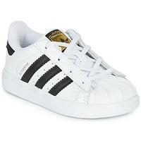 Παπούτσια Παιδί Χαμηλά Sneakers adidas Originals SUPERSTAR I Άσπρο / Black