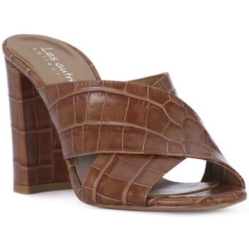 Παπούτσια Γυναίκα Τσόκαρα Priv Lab CUOIO KAIMAN Marrone