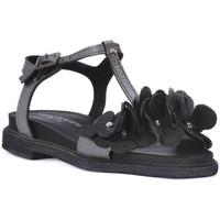 Παπούτσια Γυναίκα Σανδάλια / Πέδιλα Sono Italiana NERO LAMINATO Nero