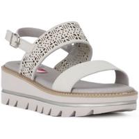 Παπούτσια Γυναίκα Σανδάλια / Πέδιλα CallagHan GREIGE LONG BEACH Grigio
