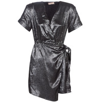 Υφασμάτινα Γυναίκα Κοντά Φορέματα Moony Mood LIVINE Silver
