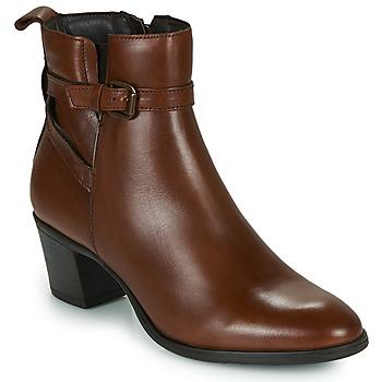 Παπούτσια Γυναίκα Μποτίνια Betty London LAVANDA Cognac