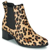 Παπούτσια Γυναίκα Μποτίνια Betty London HASNI Leopard