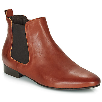 Παπούτσια Γυναίκα Μπότες Betty London HYBA Cognac