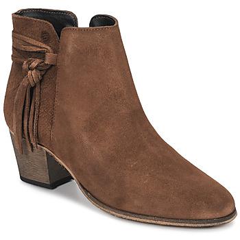 Παπούτσια Γυναίκα Μποτίνια Betty London HEIDI Cognac