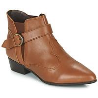Παπούτσια Γυναίκα Μπότες Betty London LYDWINE Cognac