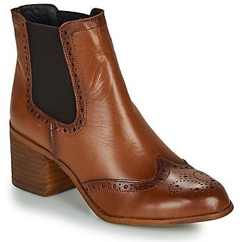 Παπούτσια Γυναίκα Μποτίνια Betty London LARISSA Cognac