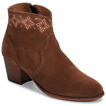 Παπούτσια Γυναίκα Μποτίνια Betty London LAURE-ELISE Camel