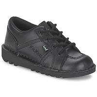 Παπούτσια Παιδί Χαμηλά Sneakers Kickers KICK LOTOE Black