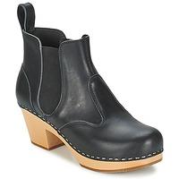 Παπούτσια Γυναίκα Μποτίνια Swedish hasbeens CHELSEA Black