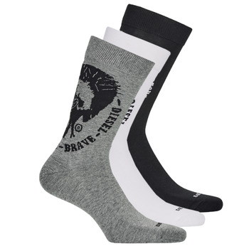 Αξεσουάρ Άνδρας Κάλτσες Diesel SKM-RAY-THREEPACK-0EASX-E3843 Black / Grey / Άσπρο