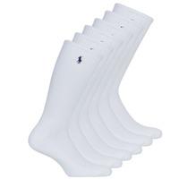 Αξεσουάρ Άνδρας Κάλτσες Polo Ralph Lauren ASX110 6PK CR PP-CREW-6 PACK Άσπρο