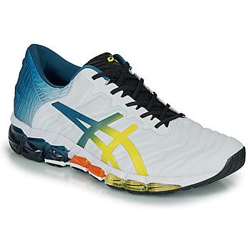 Παπούτσια Άνδρας Χαμηλά Sneakers Asics GEL-QUANTUM 360 5 Άσπρο / Multicolour