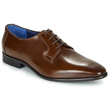 Παπούτσια Άνδρας Derby Azzaro VICHE Brown