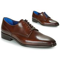 Παπούτσια Άνδρας Derby Azzaro POIVRE Brown