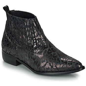 Παπούτσια Γυναίκα Μπότες Ippon Vintage GILL ARTY Black