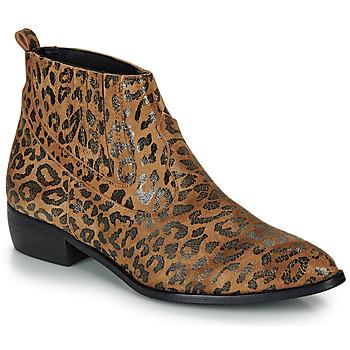 Παπούτσια Γυναίκα Μπότες Ippon Vintage GILL ARTY Camel