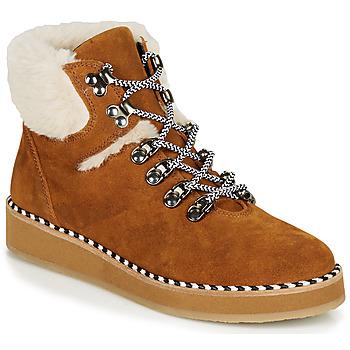 Παπούτσια Γυναίκα Μπότες Ippon Vintage RIDE LAND Camel